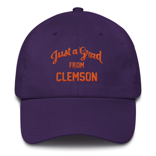 Clemson Cotton Cap