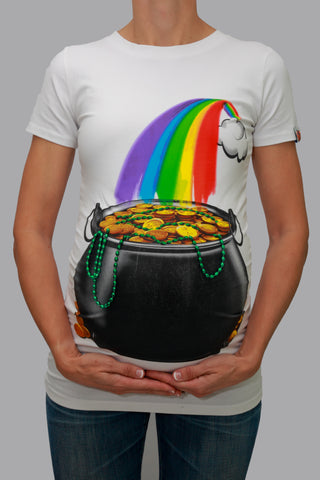 Pot of Gold Maternity T-Shirt