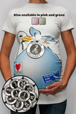 Stork Bundle Shirt w/ Set of 10 Weekly COUNTDOWN Belly Tags