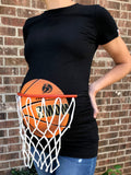 Basketball Maternity T-Shirt with Net
