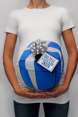 Hanukkah Gift Box Shirt with Due Date Tag