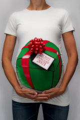 Christmas Gift Box Shirt with Due Date Tag