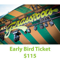 2017 Adult 4day Festival Admission -- Early Bird Special
