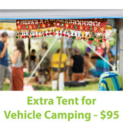 On-Site EXTRA TENT for Vehicle Camping (FLS2017)