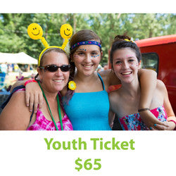 2017 Youth 4day Festival Admission -- Advance Ticket
