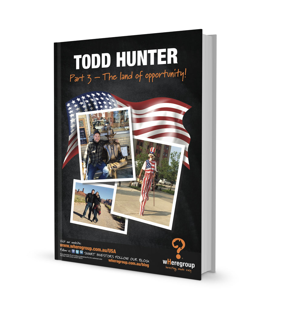 wHy USA - Todd Hunter - Part 3, the land of opportunity..