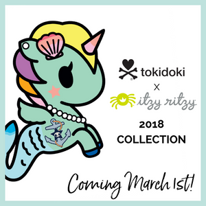 The Latest Itzy Ritzy x Tokidoki Collection Coming March 1 to The Sensible Mama