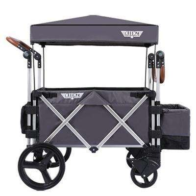 Keenz Stroller Wagon - Grey-Wagon-The Sensible Mama