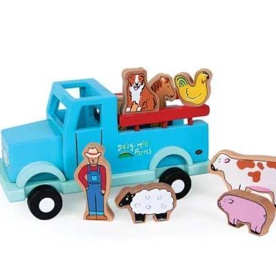 Magnetic Truck- FARM-Toy-The Sensible Mama