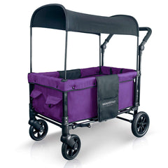 Wonderfold W1 (Multi-Function Twin Stroller Wagon, Push Only) - Cobalt Violet-Wagon-The Sensible Mama