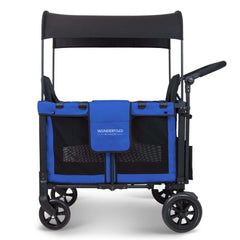 Wonderfold W2 (Multi-Function Twin Stroller Wagon, Push Only) - Blue