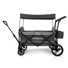 Wonderfold X2 (Multi-Function Twin Stroller Wagon, Pull/Push) - Gray
