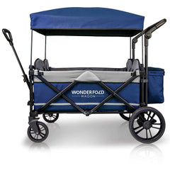 Wonderfold X4 (Multi-Function Quad Stroller Wagon, Pull/Push) - Navy