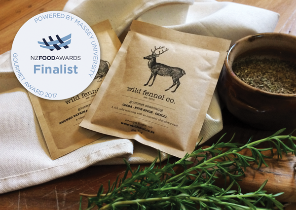 Deer Seasoning Food Awards Finalist!