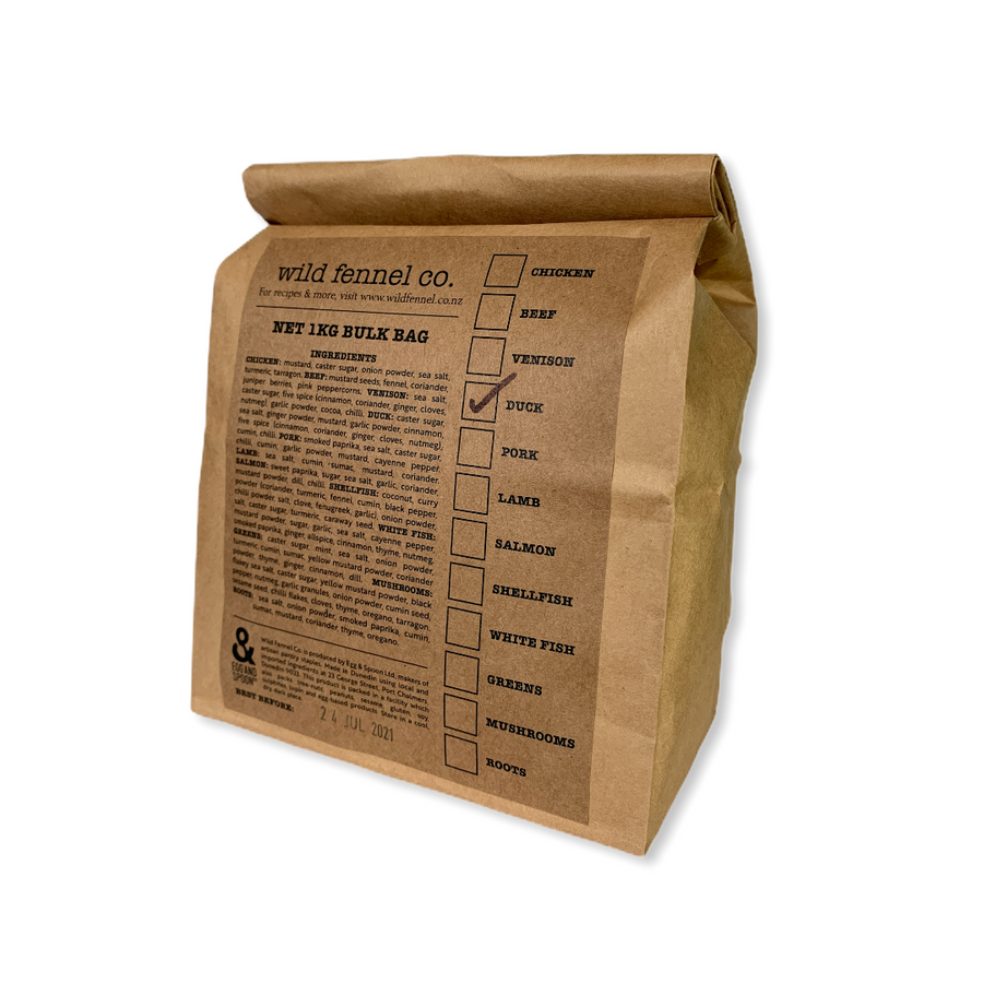 Wild Fennel Co. Seasoning Bulk Bag 1KG