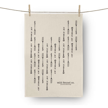 Knife & Fork Tea-Towel