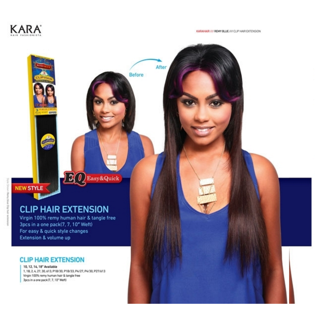 Clip In Extension Weave 100 Human Hair By Remy Blue Sookys
