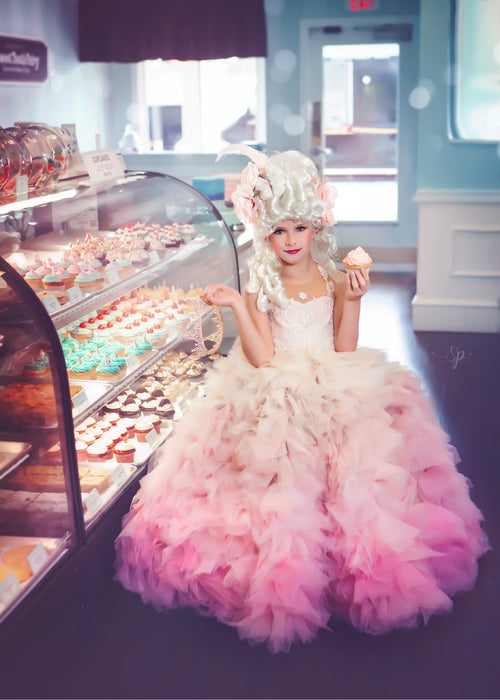 Let them eat cake! (pink dress)