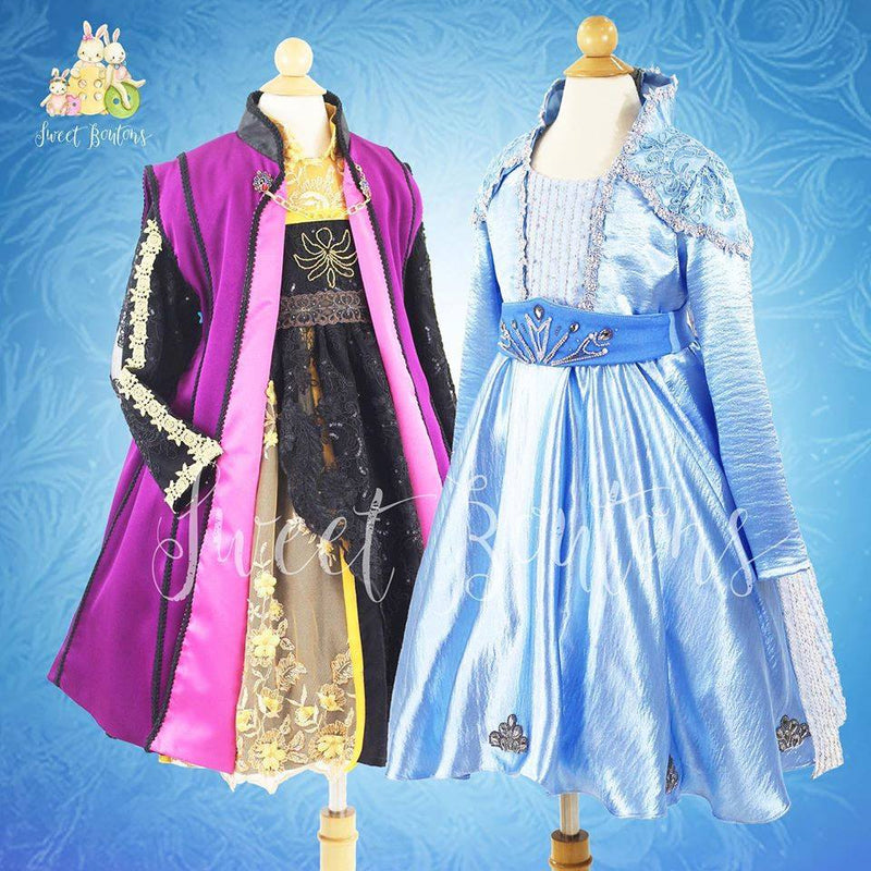 Frozen 2 Traveling Elsa dress