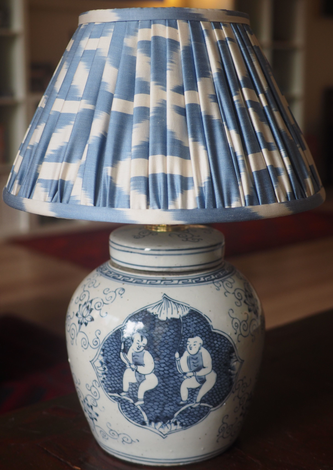 Ikat Lamp Shades
