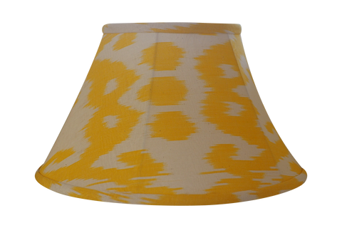 Dandelion Silk Ikat Lamp Shade