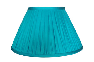 Aquamarine Thai Silk Lamp Shade