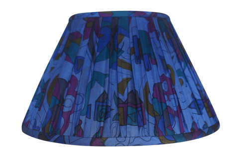 Rewa Silk Sari Lamp Shade