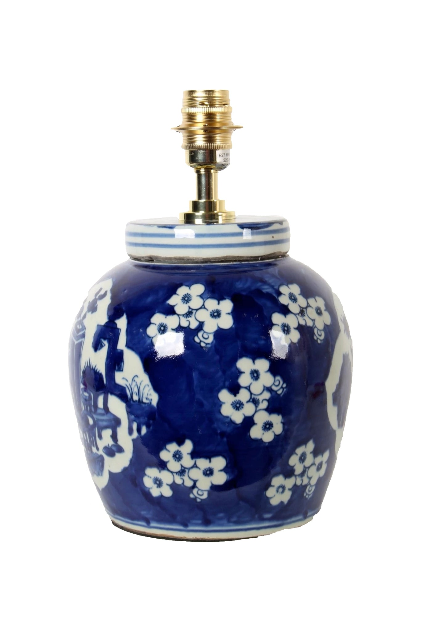 Vase And Plum Blossom Ginger Jar Table Lamp Base