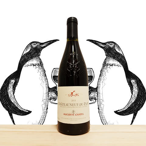 Chateauneuf-du-pape Auguste Chatel 2011 | wineandchill