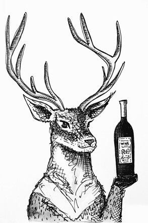 Deer - Wine & Chill