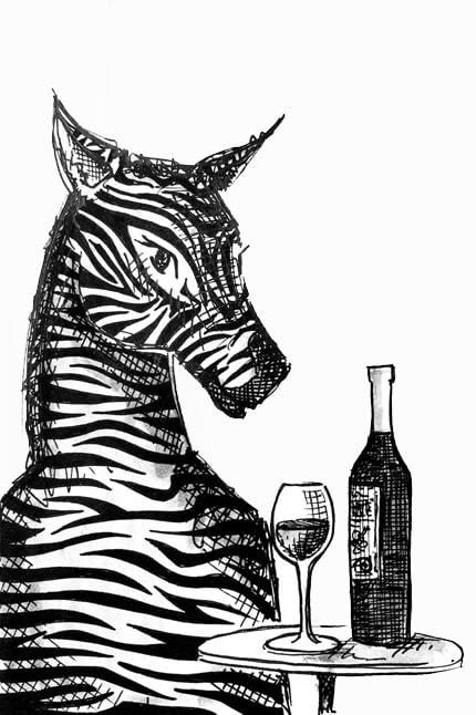 Zebra - Wine & Chill