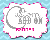 Matching Banner - Customizable - Printable