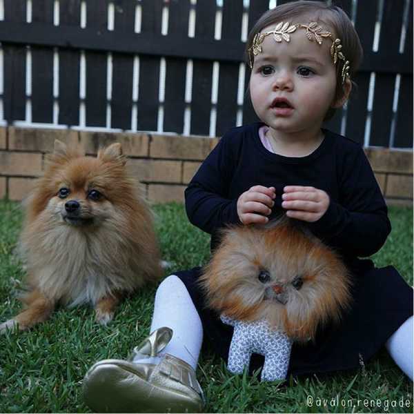 AVALON & HER FURRY FRIENDS