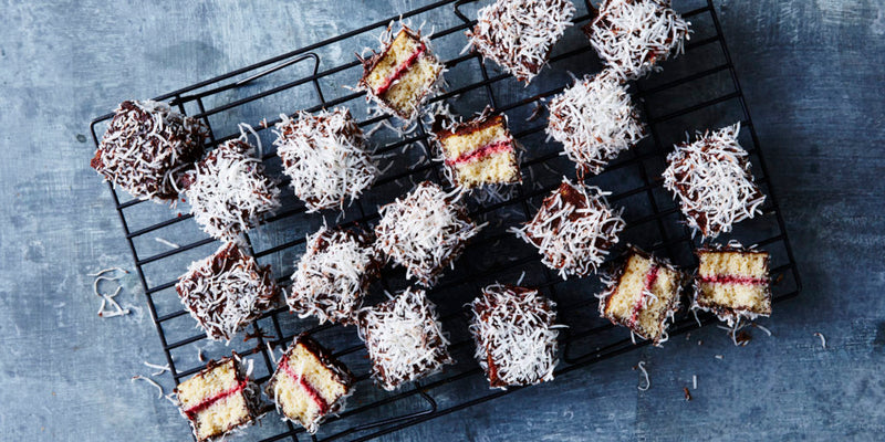 Healthy Chocolate Lamingtons - from 28 By Sam Wood