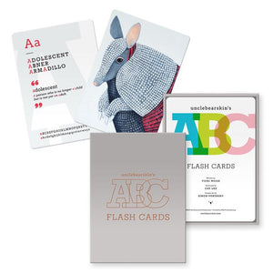 ABC FLASHCARDS - UNCLEBEARSKIN PRODUCTIONS