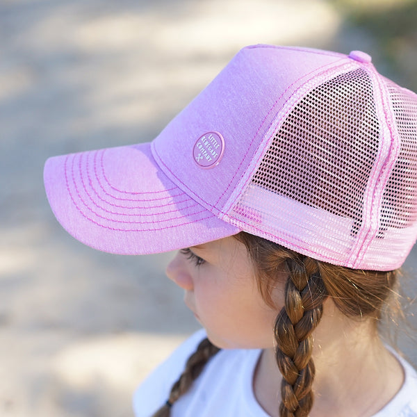 BLUSH TRUCKER CAP – 3 Sizes
