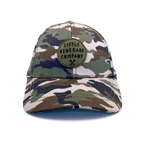 CAMO BASEBALL CAP - 3 Sizes