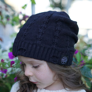 EVEREST BEANIE - BLACK