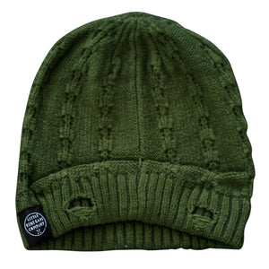 EVEREST BEANIE - OLIVE GREEN