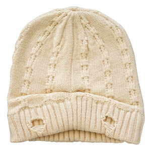 EVEREST BEANIE - OFF WHITE