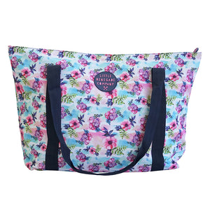 PASTEL POSIES LARGE TOTE BAG