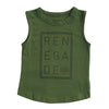 RENEGADE MUSCLE SINGLET - 3 COLOURS