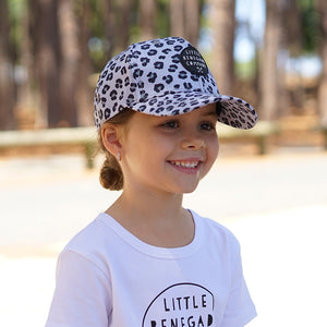 SNOW LEOPARD BASEBALL CAP - 3 Sizes