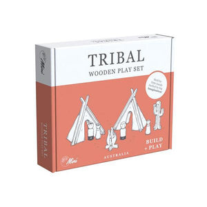 TRIBAL WOODEN PLAY SET