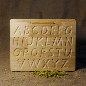 ALPHABET TRACING BOARD - CAPITAL LETTERS