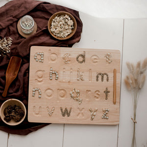 ALPHABET TRACING BOARD - LOWERCASE LETTERS