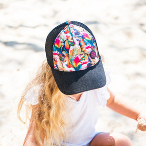 FLOCK TRUCKER CAP – 3 Sizes