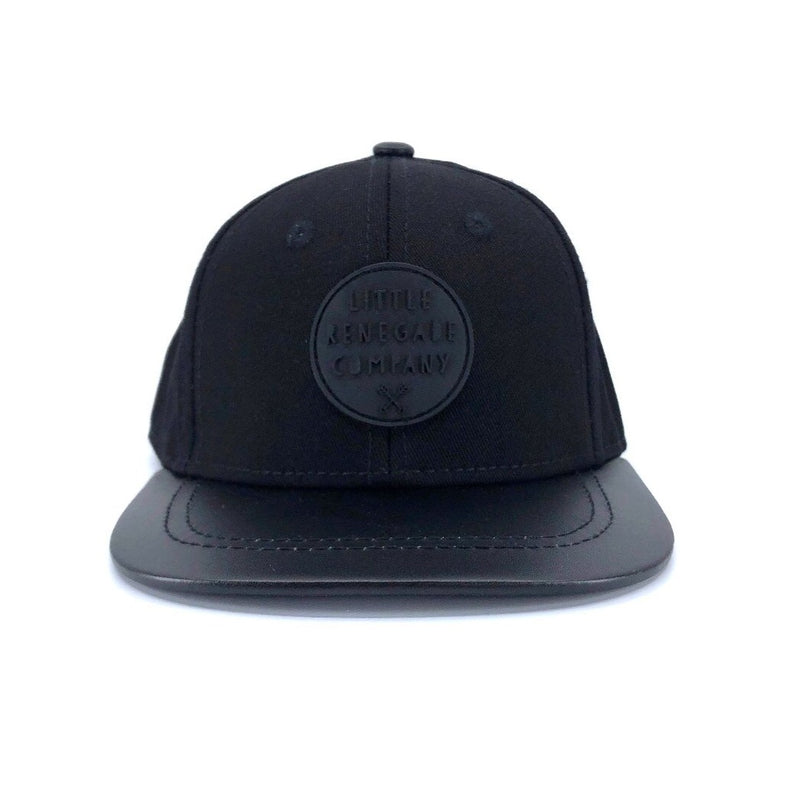 BLACK ON BLACK CAP – 3 Sizes