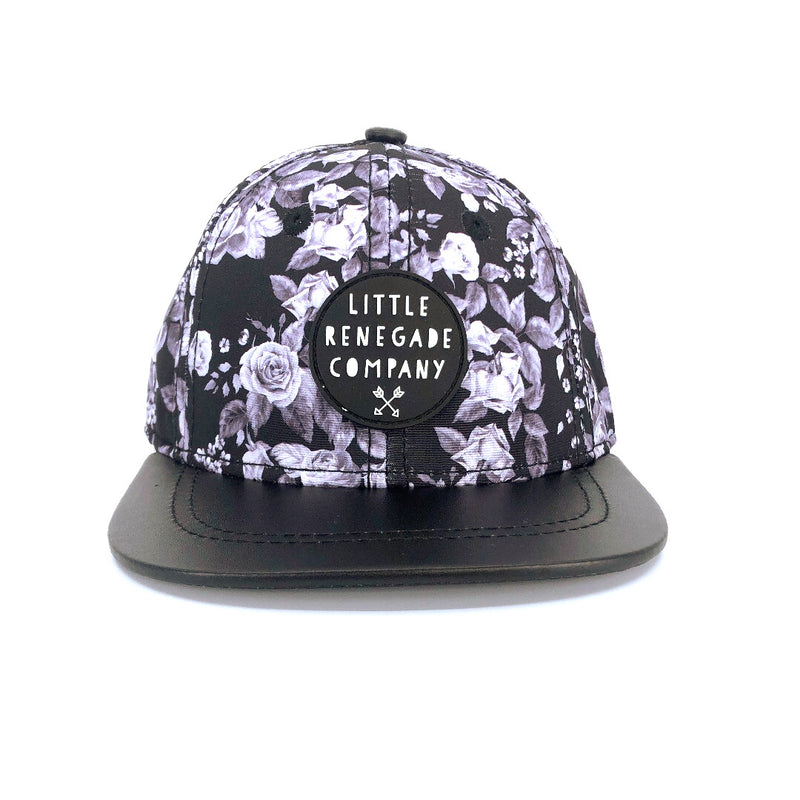 MIDNIGHT BLOSSOM CAP – 3 Sizes