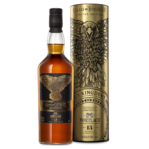 Six Kingdoms Game of Thrones Scotch Whisky - Mortlach 15yo - The Malt Vault